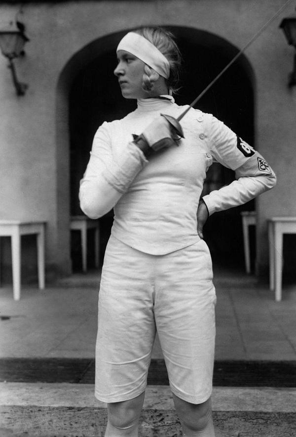 Resultado de imagen de Helene Mayer (1910-1953).