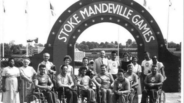 Resultado de imagen de juegos de Stoke Mandeville (Buckinghamshire)